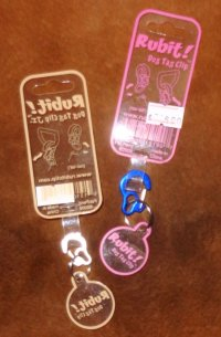Removable Tag Clips by Rubit!