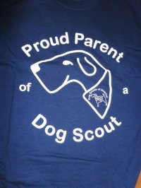Proud Parent of a Dog Scout T-shirt