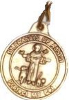 Saint Francis or Guardian Angel Dog Tags