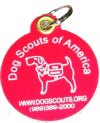 Dog Scout Tag w/ Logo